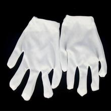 1 Pair Fashion Men'S Summer Thin Elastic Large White Gloves Male Black Color Etiquette Gloves Driving Gloves Wholesale #45(China)