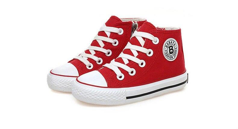 Enfants chaussures pour fille enfants toile chaussures garçons 46