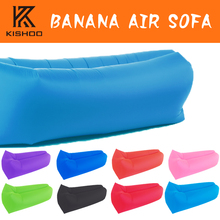 Fast Inflatable Air Sofa Lay Bag Air Sleeping Bag Camping Portable Sofa Lounger Beach Bed Air Hammock Nylon Lazy Bag Laybag