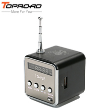 TOPROAD Portable LCD enceinte Speaker Mini Speakers with TF FM USB Subwoofer Boombox Parlantes Loudspeakers For Mobile Phone PC(China)