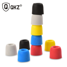 QKZ Original 5 Pair T400 5 colors Noise Isolating Comfortble Memory Foam Ear Tips Ear Pads for Headphones Earphone Headset