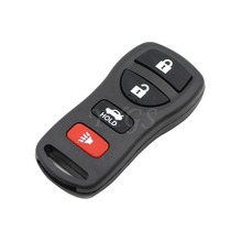 Replacement 4 Buttons Keyless Fob Entry Key Remote Shell Case For Nissan Maxima Armada Frontier Xterra Murano Quest