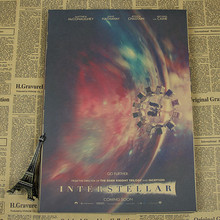 Interstellar Metaphor cannot read space Vintage Paper Poster Art Decoration Painting core Mix Order 42X30CM