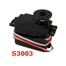 Professional RC Car Spare Part Robot Servo S3003 Boat Plane Vehicle Power Standard Servo SUV Steering engine 1pcs   FL