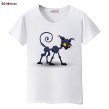 BGtomato New style creative T-shirts Personality printing cat tops Original brand clothes good quality summer tees for women