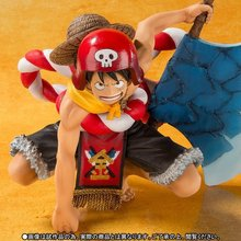 One Piece Gold Monkey.D.Luffy Axe 11cm Toy Action Figures #1976 Kids Brinquedo Toys Birthday Gift Free Shipping