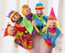 Funny little Hand Puppets Unisex 5PCS/lot Puzzle dolls Best Seller