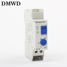 time timer switch 30s-20 minutes 230V 220V 250V 30s 20min high top quality light electric device equipment controller ALC18(China)