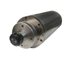 Good original CNC Router spindle motor 4.5KW 220V water-cooled D125mm,24000rpm spindle,cheap shipping cost EMS/DHL/FEDEX(China)