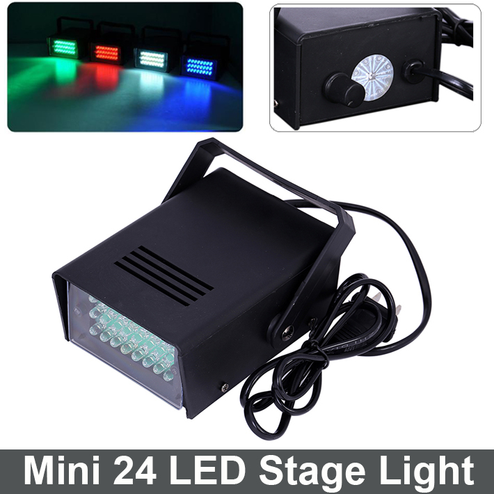 Mini 24 LED DJ Strobe Light Flash Light Club Stage Lighting Party Disco Bulb 220V 3W White Color Free Shipping<br><br>Aliexpress