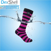 Men/Women high quality knee-long lite breathable coolmax hiking running waterproof/windproof Water-stop Belt outdoor sport socks(China)