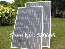 200w 12V Solar Panel Kit - Advanced RV Solar Kit - 2 x 100w Solar Panel Free Shipping(China)