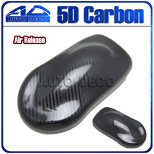 Premium Quality 1.52*20M Supper Glossy 5D Carbon Fiber Vinyl Car Wrapping DIY Stickers Film FedEx - Auto Deco Co., Ltd store