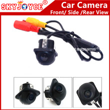 Front Side car camera CCD HD Rear view camera 170 Angle Waterproof Auto Rear Camera Reverse Backup CCD Camera for Mirror Monitor