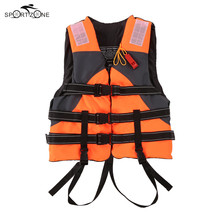 Outdoor Unisex Lifesaving Jacket Swimming Marine Life Vest Safety Survival Suit Aid For Water Sport Fishing Chaleco De Pesca(China)