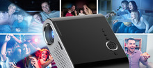 Portable GP90 Mini Multimedia Projector 1080P Full HD LCD LED Home Theater USB TV Video Projector 1280*800 High Quality