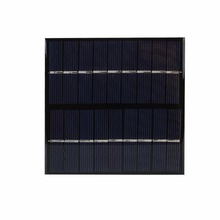 Universal 2W 9V Polysilicon DIY Solar Panel Epoxy Plate Battery Power 115x115 Outdoor Travelling Powerbank DIY Module Charging