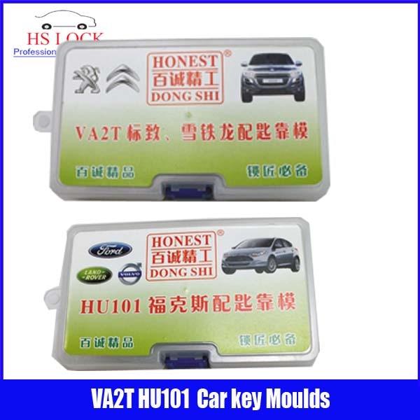 HU101 &amp; VA2T car key moulds for key moulding Car Key Profile Modeling locksmith tools<br>