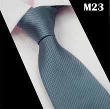 SCST Brand Designer 2017 New Cravate Solid Grey Men's Wedding Necktie Slim Neckties Mens Silk Ties For Men Tie Gravata CR044