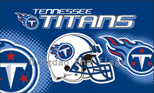 3X5FT Tennessee Titans Helmet flag with Two Metal Grommets(China)