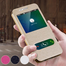 Case for Samsung J3 J1 J5 prime 2016 Case for Samsung Galaxy J1 J3 J7 J5 prime 2016 New View Window Leather Flip Cover Phone Bag