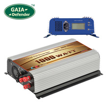 1000W Wind Grid Tie Inverter with LCD/Dump Load Controller for 22-60v wind turbine AC 110V 120V 3 phase generator