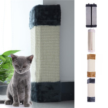 Hot Sale Cat Pet Kitten Wall Corner Scratching Scratches Board Mat Post Tree Scratcher Sisal Hemp Kitty Pet Plush Flying Toys