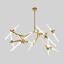 Creative Branch Arts Roll Hill Agnes Pendant Light lamp Modern Italian Design Personality Living Room Restaurant Lamps fixtures