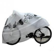 Brand New 210x100cm Bike Rain Snow Dust Cover Waterproof Outdoor Scooter Protector Gray For Bike Bicycle Cycling(China)