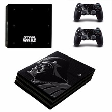Darth Vader Vinyl Decal PS4 Pro Skin Stickers for Sony PlayStation 4 Pro Console and 2 Controllers Decorative Skins STAR WARS