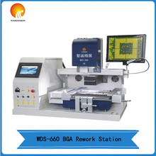 WDS-660 laser BGA rework station automatic bga reball station for motherboard with Germany ELSTEIN