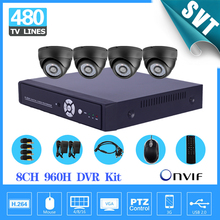 Buy Home Security 8ch CCTV video System 4pcs 480tvl indoor IR camera Video Surveillance System DVR video recorder kit SK-073 for $164.03 in AliExpress store