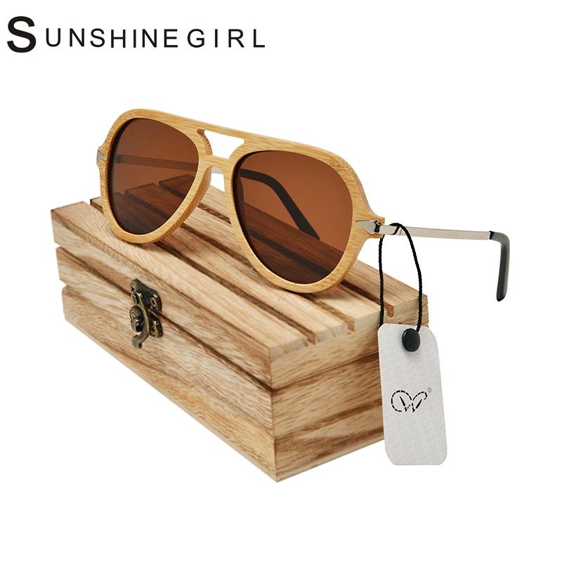 Aviator Solo Eyewear customizable Polarized Designer Bamboo Sunglasses 3025 Brand Men Women Solo Eyewear<br><br>Aliexpress