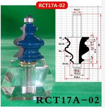 Industry Quality Carbide Wood Working Line Shape Molding Router Cutter Bits V Groove ( RCT17A-02 )
