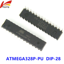 ATMEGA328P-PU ATMEGA328P CHIP ATMEGA328 Microcontroller MCU AVR 32K 20MHz FLASH DIP-28(China)