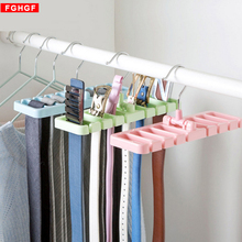 NEW Storage Rack Tie Belt Organizer Space Saver Rotating Ties Hanger Holder Hook Closet Organization Tank Tops Bra Belts Bag(China)