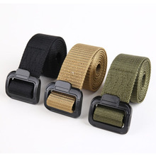 Men's Outdoor Sports Military Tactical Nylon Waistband Canvas Web Belt Fashion