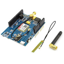 Elecrow GPRS GSM Shield for Arduino SIM800C Module With Antenna Tested World Wide Development Board Sim900 GSM GPRS DIY Kit(China)