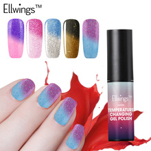 Ellwings 1pcs New Product Chameleon Temperature Color Changing Nail Polish Soak Off Long Lasting Lucky Nail Clipper