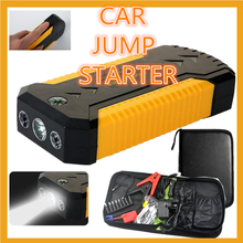 Car Jump jumper auto motor starter Emergency Power Supply Car Start Power Multi-function for petrol car cellphone Battery(China)