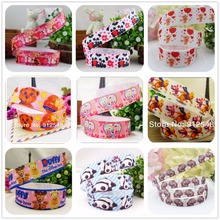 YJHSMY 22mm 1 yard Sublimation Egg Pattern grosgrain ribbon,Clothing accessories accessories,wedding gift wrap ribbon,A-0022