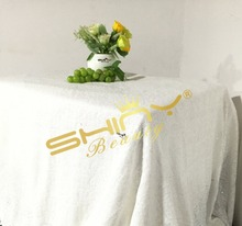 Elegant!! 50''*72'' White Sequin Table Cloth, Fatest SHIPPING, White Tablecloths, Overlays, Runners, Weddings Party Decoration