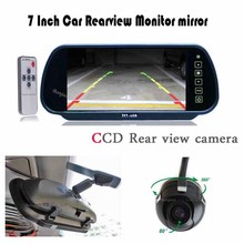 HD 7 Car Monitor Mirror Display 360 Degree Car Rear View Camera Reversing Backup cam Parking Assistance Automobiles Parktronic