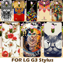 DIY Painting design Hard Plastic Case For LG Optimus G3 Stylus D690 D690N Phone Cover Protective Sleeve Shell Capa Para Shell