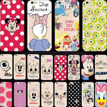 Wholesale Price Elegant Painting Goofy Silicon Phone Cases For Apple iPhone 4 iPhone 4S Case For iPhone4S Cover Shell Fashion