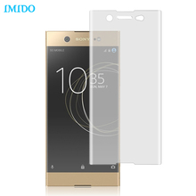IMIDO For Sony Xperia XA 1 Ultra Screen Protector Full Cover Soft TPU Film For Sony Xperia XP/X/XA/XZP (Not Tempered Glass)(China)