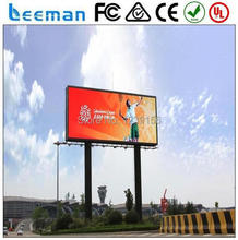 p6 Outdoor waterproof High resolution stable P10/P16/P20 advertising rgb outdoor electronic led programmable sign display board