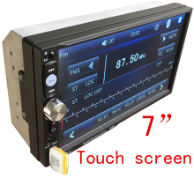 Free shipping 2DIN Car DVD / MP3 / mp5 / usb / sd / player Bluetooth Handsfree  Touch screen hd system