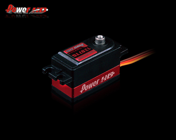 Original Power HD 1207TG High Speed Low Profile Digital Metal Gear Servo for 1:10 RC Car(China (Mainland))