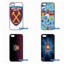 Original West Ham United Logo Phone Cases Cover For Xiaomi Redmi 2 3 3S Note 2 3 Pro Mi2 Mi3 Mi4 Mi4i Mi4C Mi5 Mi MAX(China)